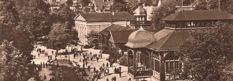 Szczawno-Zdrój – Pijalnia dawniej